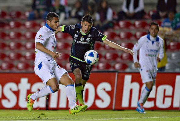 Querétaro no pudo derrotar a Santos, quien sigue sin ganar, y empataron...