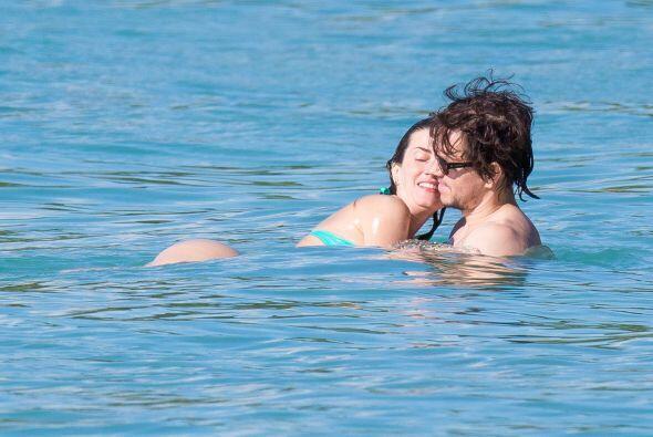 De disfrutar del sol, la arena y su querida esposa por Barbados.