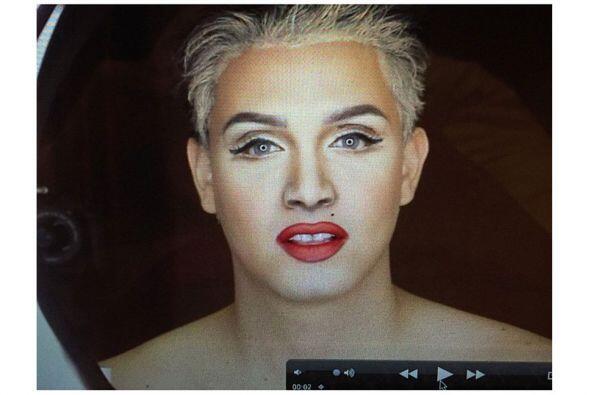 Uff! ¿Es Madonna o Paolo con maquillaje?
