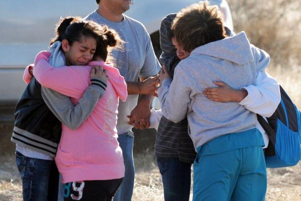 A mediados de enero, un adolescente de 12 años disparó contra dos compañ...