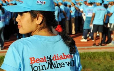 Marcha para concienciar sobre la diabetes