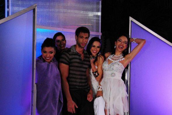 Lilia, Zuleyka, Bárbara y Audris pretendieron ser unas top model mientra...