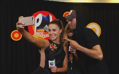 Enrique Iglesias acabó entrevistando en nuestro backstage