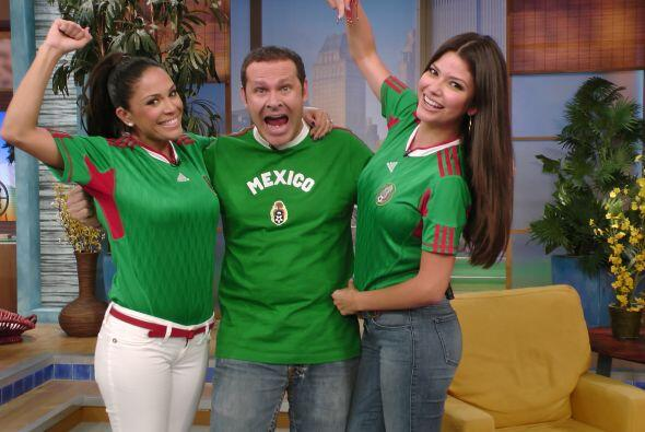 Alan siempre lleva a México en su corazón y comparte ese gran amor con K...