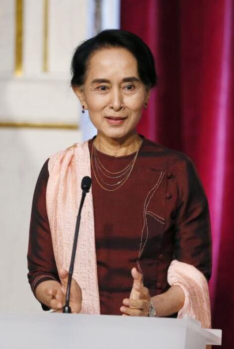 61.- AUNG SAN SUU KYI. Es  representante  del Parlamento de Birmania y g...