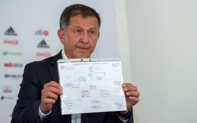 Juan Carlos Osorio entregó su lista y argumentó el llamado de sus jugado...