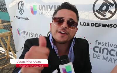 Jesús Mendoza le manda mensaje a Donald Trump
