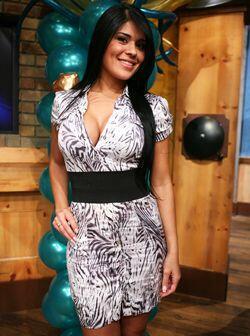 Elízabeth López sigue estando tan bella como cuando ganó en el 2006.