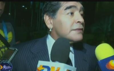 Maradona crítica la forma en que la FIFA reparte las ganancias que obtie...