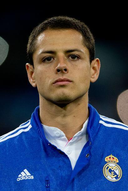 Javier 'Chicharito' Hernández pasó del Manchester United al Real Madrid,...