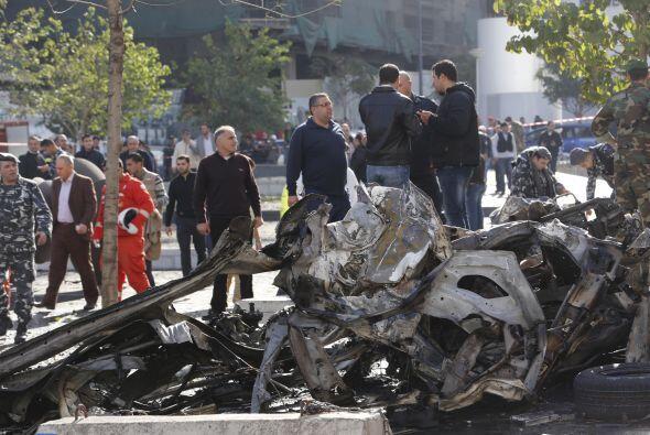 Rafik Hariri fue asesinado en un atentado con camión bomba en Bei...