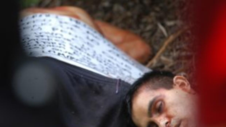 Mientras los cadáveres de cinco hombres fueron hallados cerca de Ciudad...