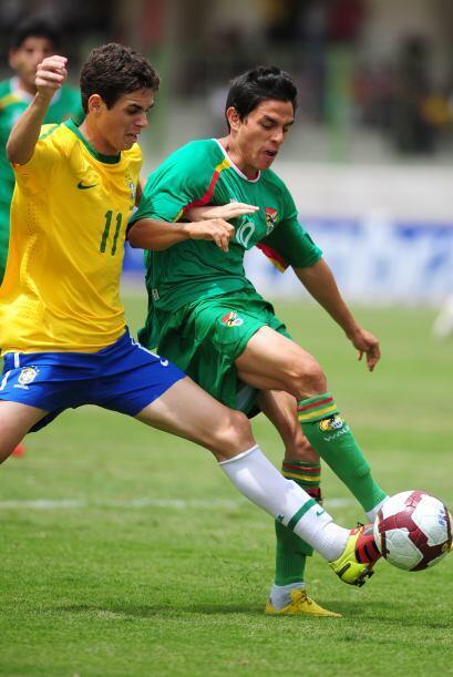 Con un gol de contragolpe de Darwin Ríos, Bolivia dio la sorpresa...