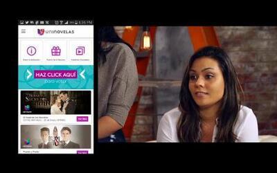 Ella ya descargó el App de UniNovelas y ganó un viaje inolvidable a los...