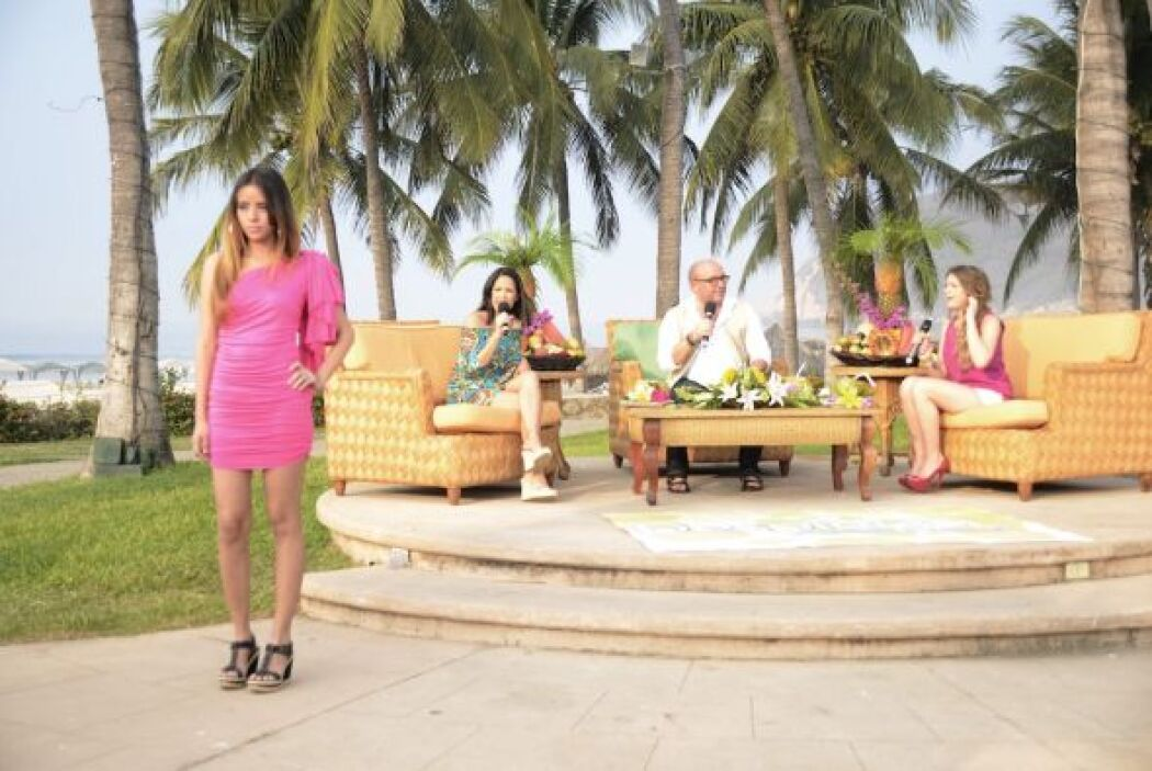 Nos presentaron varios diseños para lucir muy guapas en la playa.