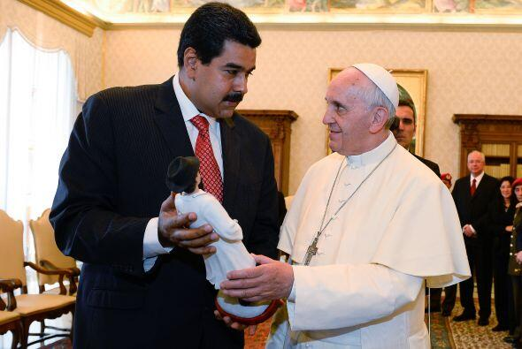 Y uno de los actos más recientes fue la visita del presidente Ven...