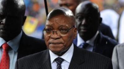 El presidente sudafricano Jacob Zuma canceló un viaje a Mozambique tras...