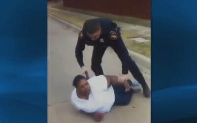Suspenden a agente de Fort Worth por uso excesivo de la fuerza durante u...