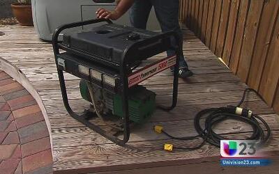 ¿Cómo utilizar un generador de electricidad?