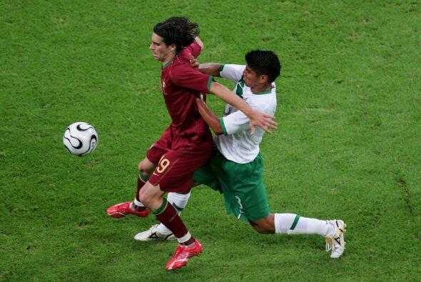 Jugó todos los minutos del Mundial de 2006, lo que le vali&oacute...