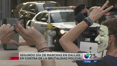 Vuelven a protestar en Dallas