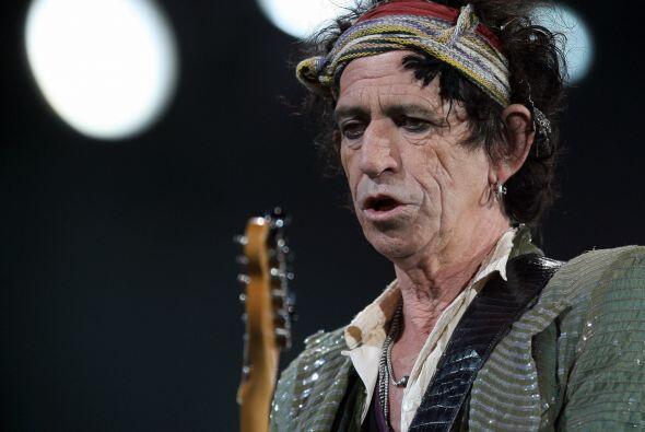 Keith Richards, quitarrista de los Rolling Stones, siempre se ha disting...