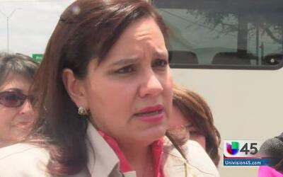 Primera dama hondureña sigue recorrido