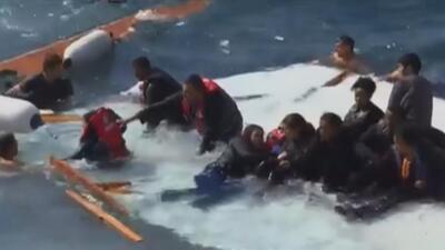 Cientos mueren en el Mar Mediterráneo al emigrar a Europa