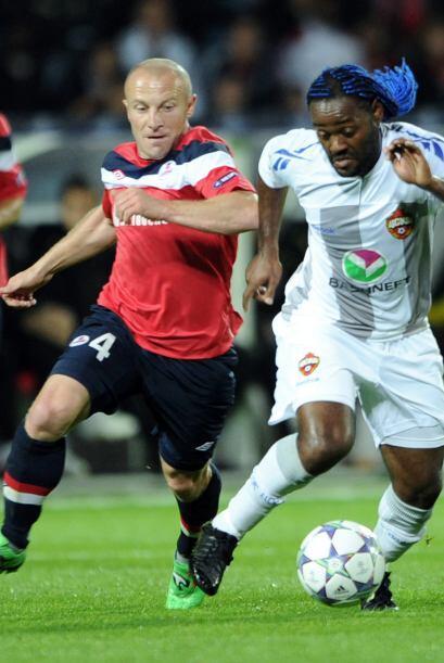 El Lille de Francia se midió al CSKA de Moscú.