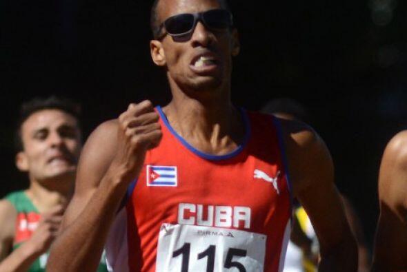 El corredor cubano Andy González ganó su segunda medalla de oro en los X...