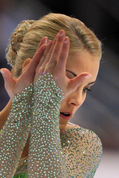 A la finlandesa Kiira Korpi no solo la conocen por sus dotes para el pat...