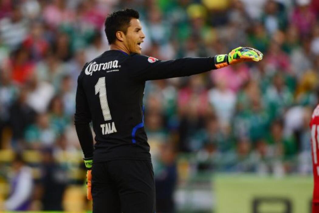 Alfredo Talavera (7): Antes de salir de cambió por una lesión, el porter...