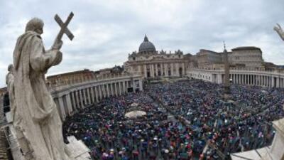 """El portavoz del Vaticano, Federico Lombardi, dijo que """"se trataba de una..."""