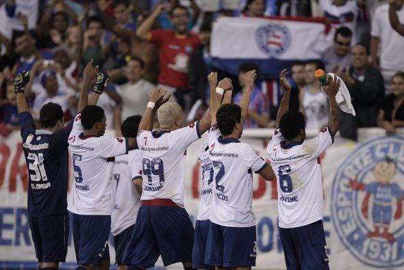 En tanto que Bahía logró su primera victoria del torneo.