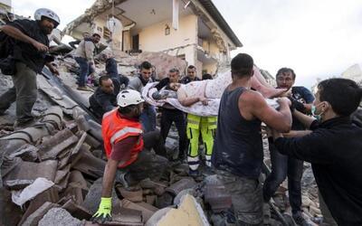 """Terremoto en Italia: """"Con dolor les digo que Amatrice ya no existe"""""""