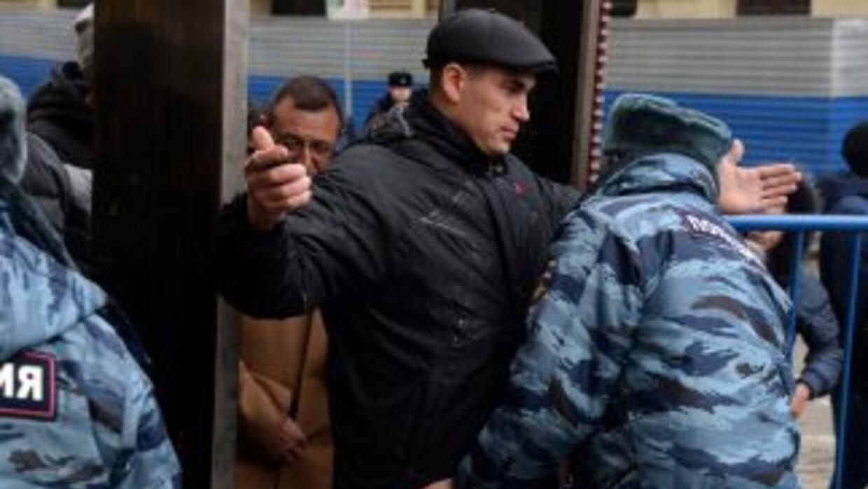 Las autoridades rusas extreman medidas de seguridad a cuatro semanas de...
