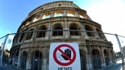 El presidente de Italia Nostra, Carlo Ripa di Meana, advirtió que el ter...