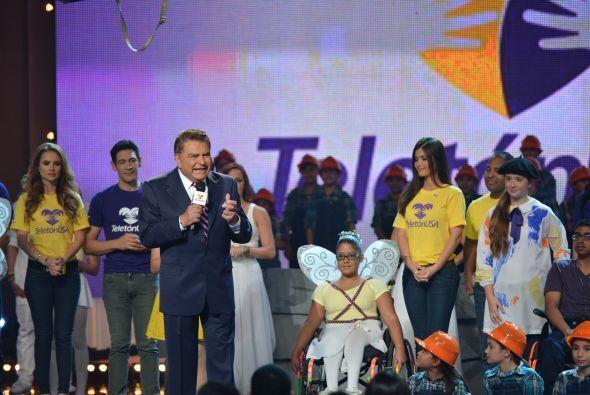Don Francisco hizo referencia a la importancia de ayudar en el Teletón USA.