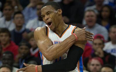 Westbrook ganó el primer juego del Thunder sin Durant.