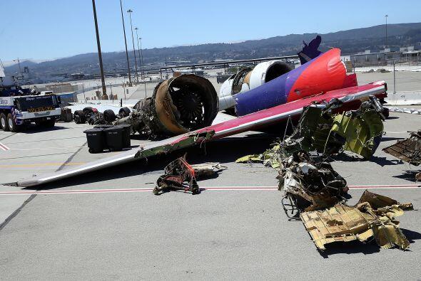"""""""El destello se produjo justo enfrente de la trayectoria del avión, no e..."""