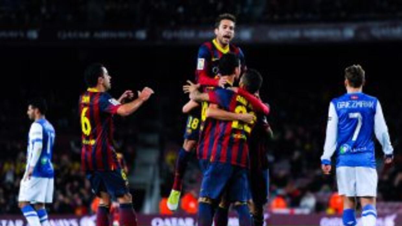 Barcelona puso un pie en la final de Copa.