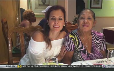 La comida cubana deleitó el paladar de Adriana Monsalve