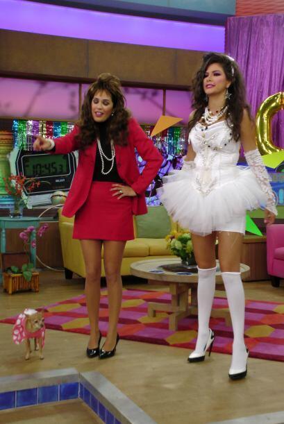 Aprovecharon esta oportunidad para peinarse, vestirse y bailar como lo h...