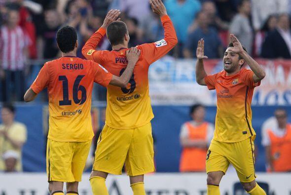 Sin embargo, el gol se dio en su propia portería, en favor del Barcelona.