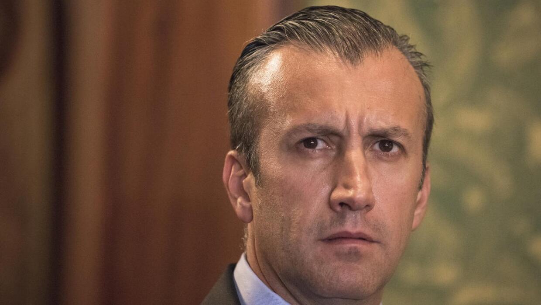 Vicepresidente de Venezuela responde a EEUU sobre las sanciones hechas e...