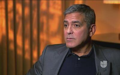 """George Clooney sobre Hillary Clinton: """"Me parece que ella está lista par..."""