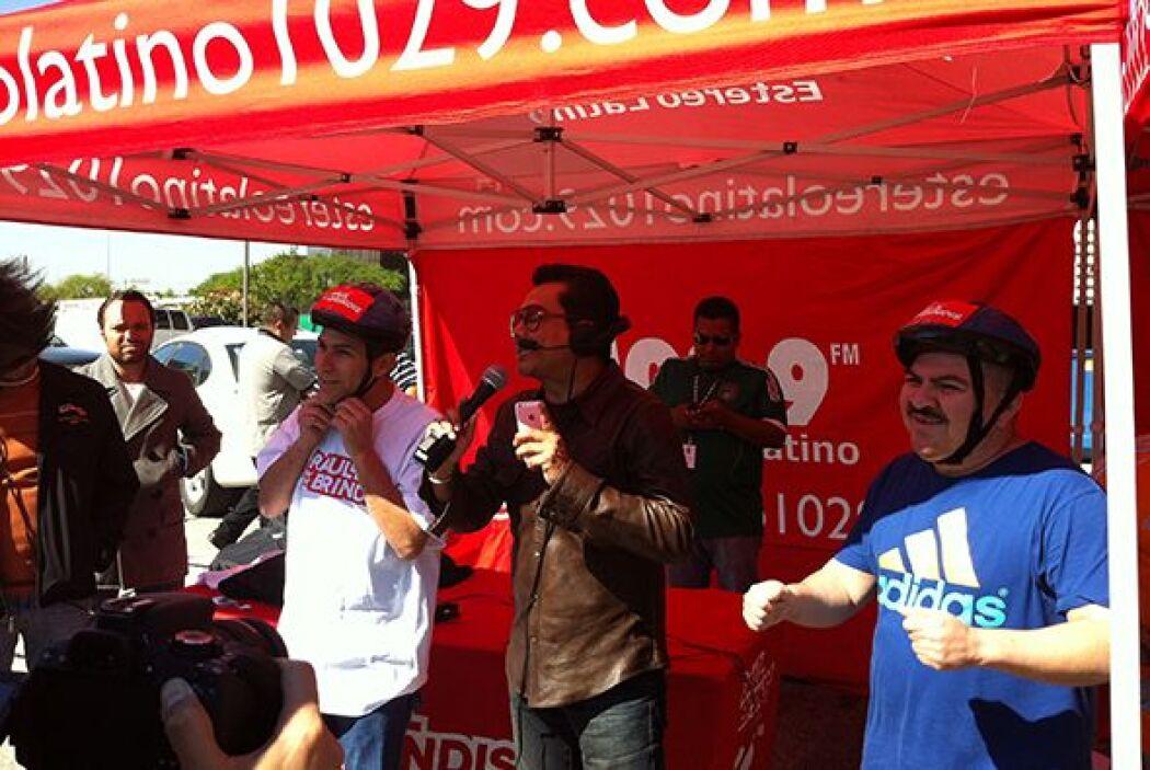 ¡Felicidades Juan, le ganaste al Turky!Escucha El Show de Raúl Brindis p...