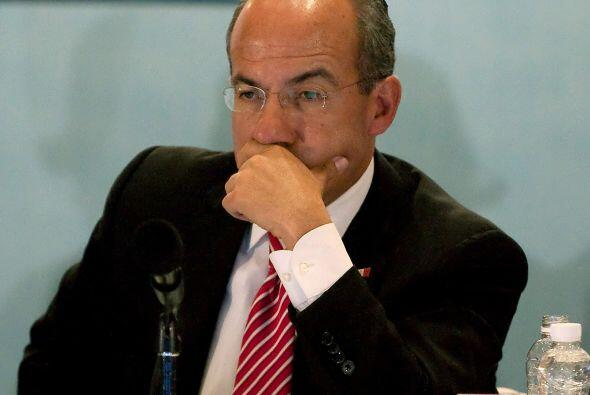 El presidente mexicano Felipe Calderón ha mostrado su preocupaci&...