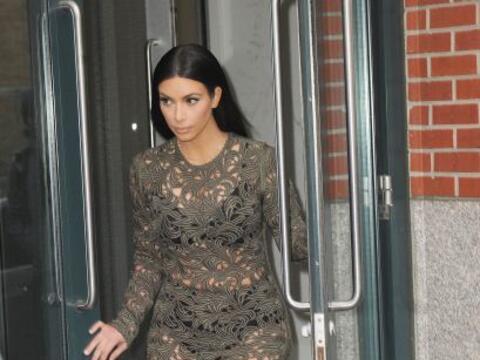 Kim Kardashian nos dejó con la boca abierta. Mira aquí los...