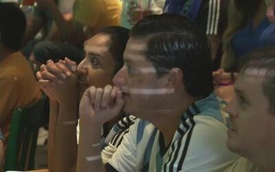 Mariachis callaron para fans de Argentina